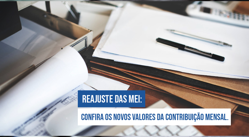 Reajuste DAS MEI: Confira os novos valores da contribuição mensal.