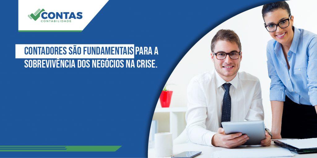 Contadores são fundamentais para a sobrevivência dos negócios na crise.